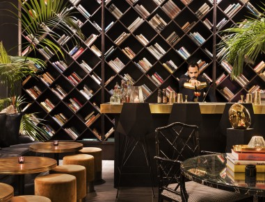 Lobby 65 Bar at Brown Beach House Boutique Hotel Tel Aviv