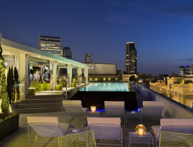 rooftop pool tel aviv  - poli house