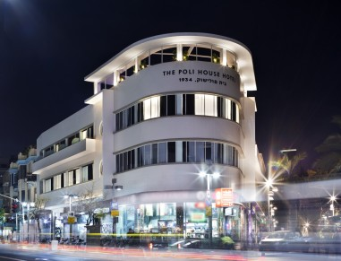 poli house boutique hotel  tel aviv