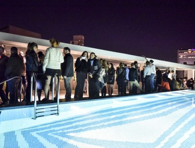 rooftop pool party  tel aviv  - poli house